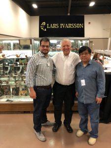 (L-R) Sykes Wilford, Rick Newcombe and Xuhai.